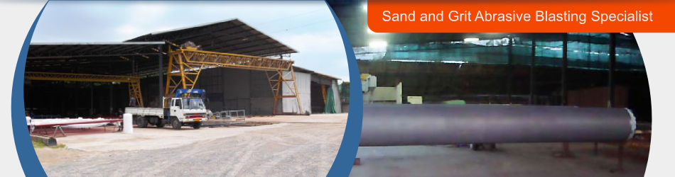 We are sand and grit abrasive blasting specialist